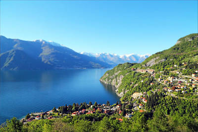 Lake Como Photograph - Lago Di Como Italy  by Brooke T Ryan