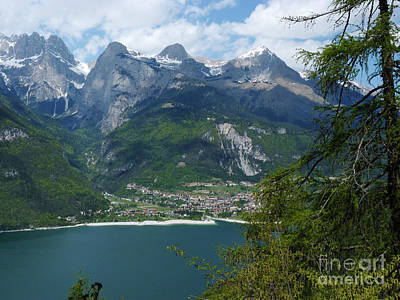 Photograph - Lago Di Molveno - Italy by Phil Banks