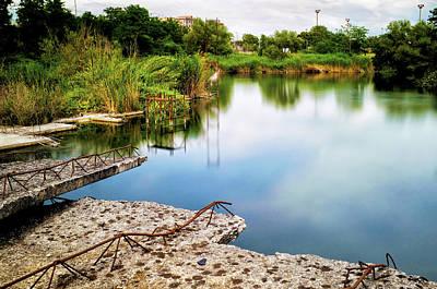 Photograph - Lago Ex Snia Viscosa by Fabrizio Troiani