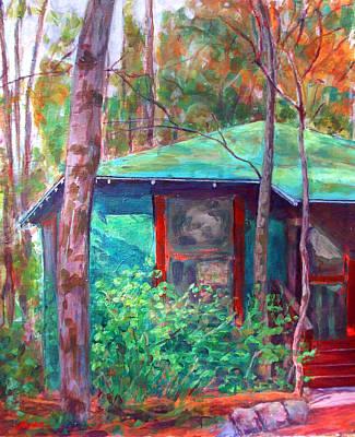 Lagoon Cabin Art Print
