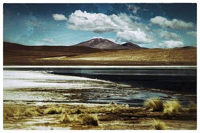 Photograph - Lagoon Grass Bolivia Vintage by For Ninety One Days