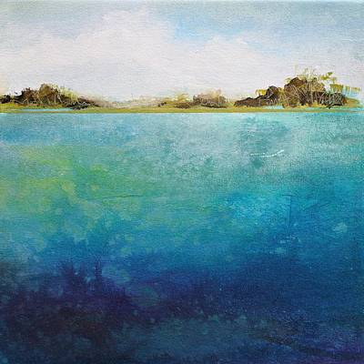 Lagoon Original by Karen Hale