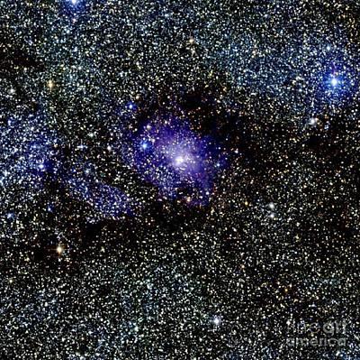 Deep Sky Photograph - Lagoon Nebula by Science Source