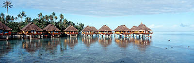 Boras Photograph - Lagoon Resort, Island, Water, Beach by Panoramic Images