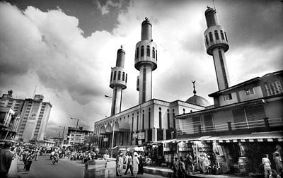 Lagos Central Mosque Art Print