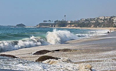 Photograph - Laguna Beach 2 by Chuck Flewelling