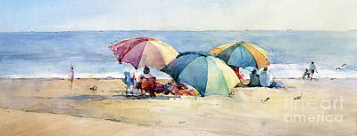 Painting - Laguna Beach - California by Natalia Eremeyeva Duarte