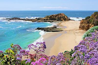 Photograph - Laguna Beach Coastline by Jane Girardot