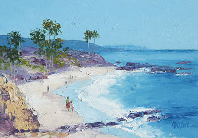Laguna Beach Art Print by Jan Matson