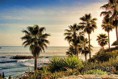 Laguna Beach Art Print by Mariola Bitner