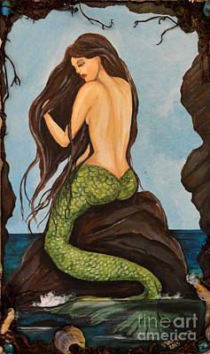 Painting - Laguna Beach Mermaid Marina by Valarie Pacheco