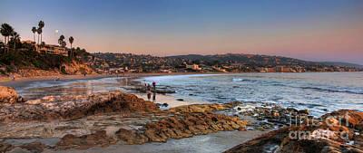 Photograph - Laguna Beach Panorama by Eddie Yerkish