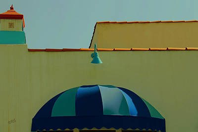 Photograph - Laguna Beach Roof by Ben and Raisa Gertsberg