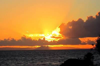 Sun Photograph - Laguna Beach Sunset 7 by Dan Twyman