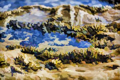 Laguna Beach Digital Art - Laguna Beach Tide Pool Pattern 3 by Scott Campbell