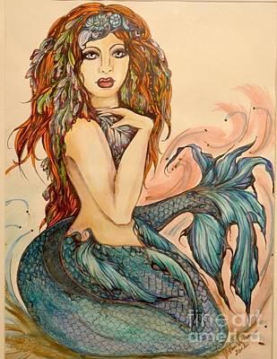 Laguna Blue Art Print by Valarie Pacheco