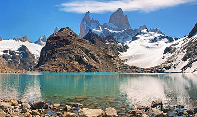 Photograph - Laguna De Los Tres by JR Photography