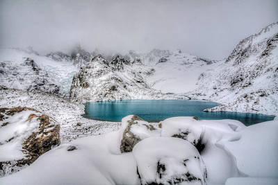 Photograph - Laguna De Los Tres by Roman St
