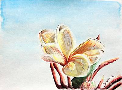 Painting - Laguna Flower by Katharina Filus