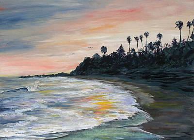 Laguna Beach Painting - Laguna Hawaii by John Loyd Rushing