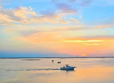 Photograph - Laguna Madre Fishing At Sunset by Kristina Deane