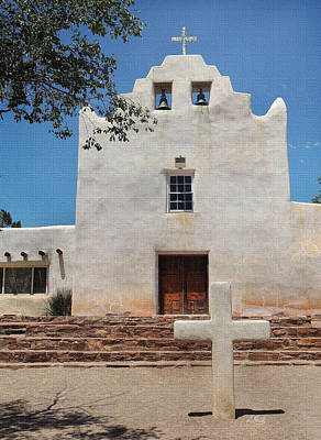 Laguna Mission New Mexico Original by Gordon Beck