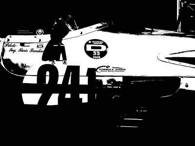 Old Cars Painting - Laguna Seca Racing Cars 2 by Naxart Studio