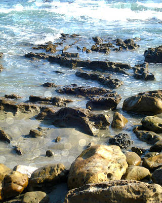 Laguna Beach Digital Art - Laguna Tides by Roleen  Senic