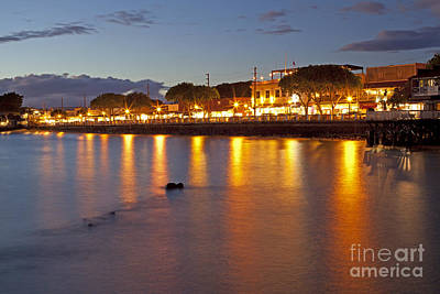 Photograph - Lahaina At Night by David Olsen