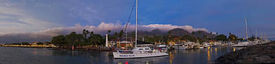 Lahaina By Night Art Print by James Roemmling