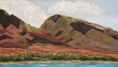 Painting - Lahaina Coast by Alan Mager