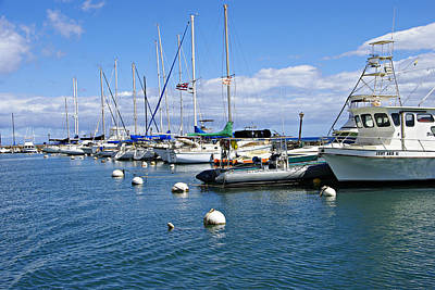 Photograph - Lahaina Harbour by Marilyn Wilson