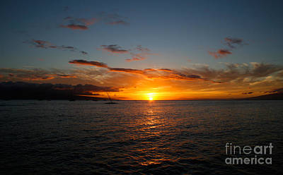 Photograph - Lahaina Sunset by David Lee