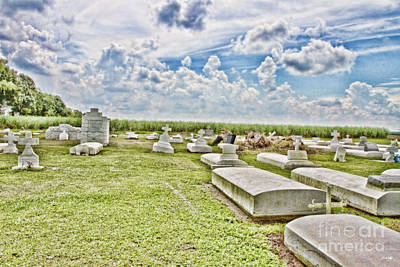 South Louisiana Photograph - Laid To Rest by Scott Pellegrin