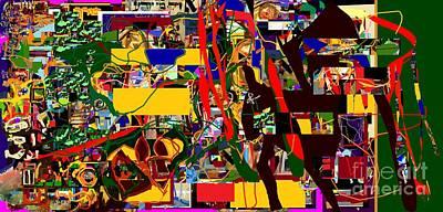 Holy Alphabet Digital Art - Lail Haseder 4dbad by David Baruch Wolk