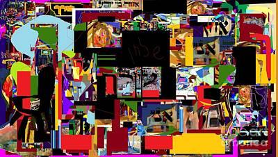 Talmud Digital Art - Lail Haseder 4dbadd by David Baruch Wolk