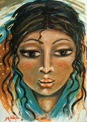 Painting - Rachel by Maya Telford