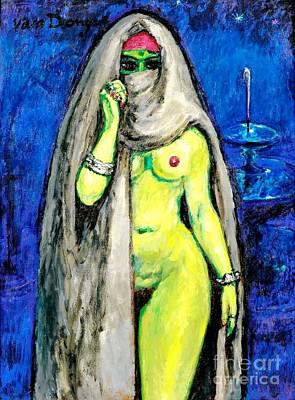 Van Dongen Painting - Lailla  by Pg Reproductions