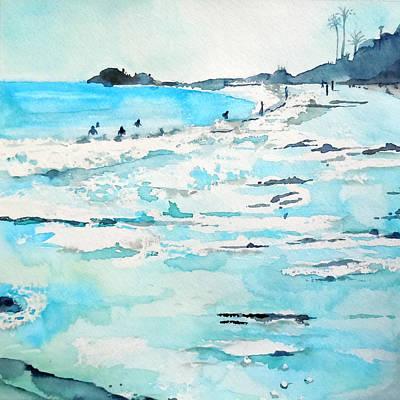 La Jolla Art Painting - Lajolla by Roleen  Senic