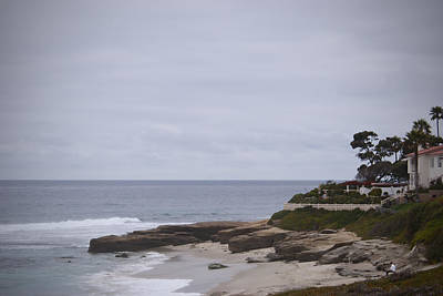 Photograph - Lajolla Shoreline by Kathy Williams-Walkup