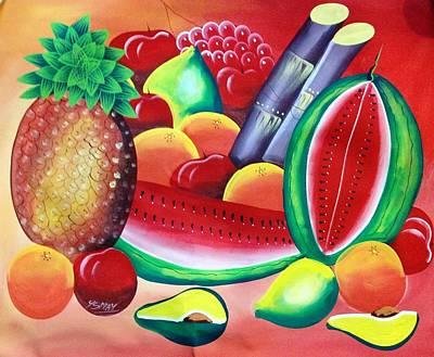 Lakay Art Print by Ysmay
