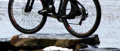 Bicycling Photograph - Lake 303 - Snow Run by Steven Digman