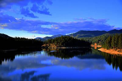 Image Photograph - Lake 6 by Ingrid Smith-Johnsen
