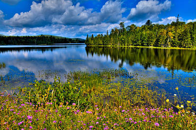 Photograph - Lake Abanakee At Indian Lake New York by David Patterson