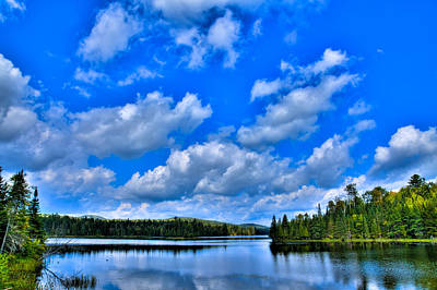 Photograph - Lake Abanakee In The Adirondacks by David Patterson