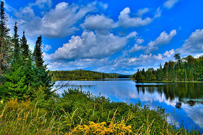 Photograph - Lake Abanakee - Indian Lake New York by David Patterson