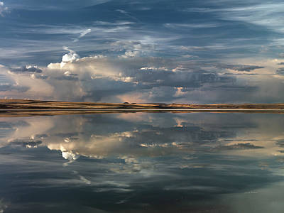 Photograph - Lake Abert 10 by Leland D Howard