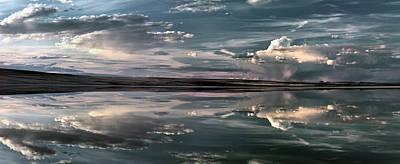 Photograph - Lake Abert 11 by Leland D Howard