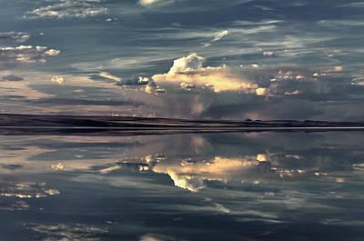 Photograph - Lake Abert 12 by Leland D Howard