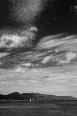 Photograph - Lake And Clouds by Steven Richman